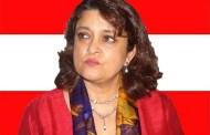 सहमति, सहकार्य र एकताका साथ अघि बढ्नुपर्छ: नेत्री कोइराला