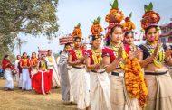 माघ १ लार्इ थारु समुदायले माघी पर्व (नयाँ वर्ष) काे रूपमा भव्यरूपमा मनाइँदै