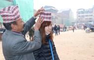 पर्यटकले पनि यसरी मनाए नेपाली टोपी दिवस