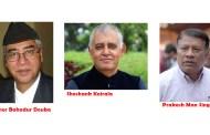 काँग्रेस संसदीय दलको नेतामा देउवा र सिंहबीच प्रतिष्पर्धा, माहामन्त्री कोईराला सहमतीको पक्षमा