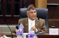 नेकपाको पहिलो बैठकमा ओलीको बोलीः १० वर्षभित्र नेपाल स्वर्गजस्तै, काँग्रेस झस्कनु पर्दैन