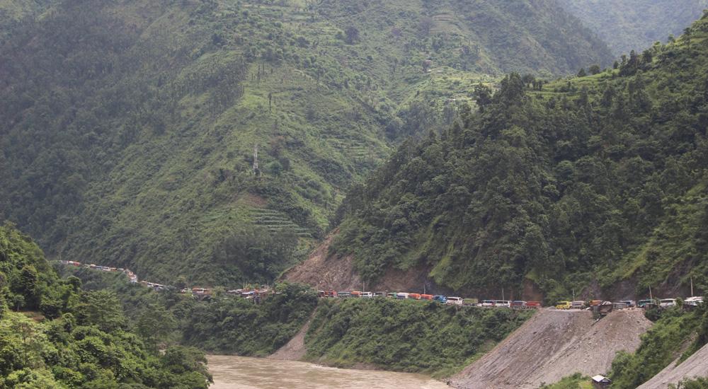 एघार घण्टापछि नारायणगढ–मुग्लिन सडक खुल्यो