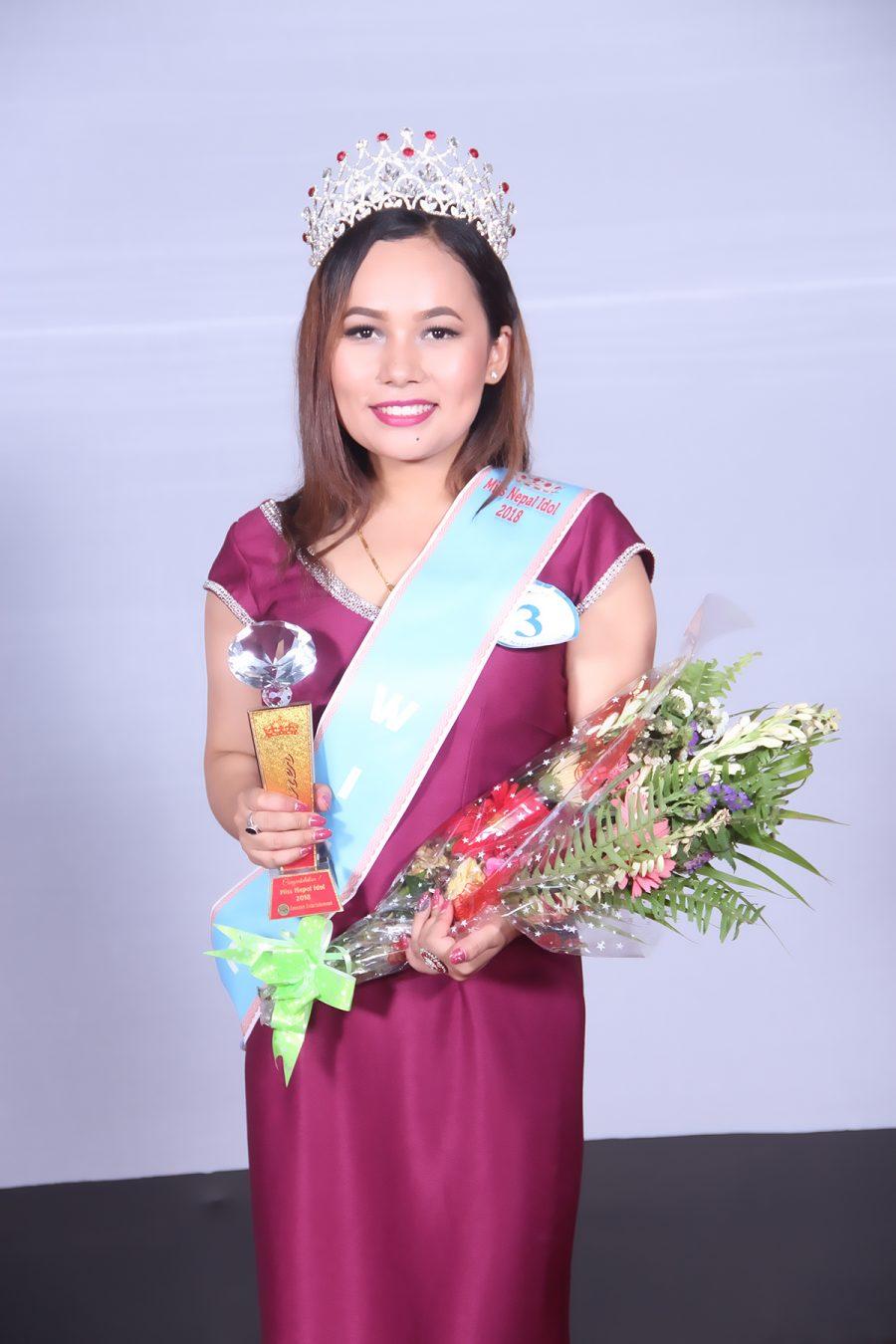 मेरिना ले जितिन 'मिस नेपाल आईडल २०१८' मिस नेपाल आईडलको ताज