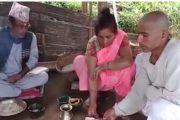 गाईको मृत्युपछि मान्छेको जस्तै काजक्रिया (भिडियो)