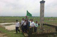 नेपालको सबैभन्दा होचो भाग कचनकवल स्तम्भमा गाडियो खुल्ला दिसामुक्तको झण्डा