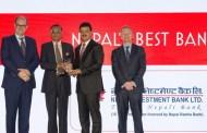 नेपाल इन्भेष्टमेण्टले फेरि पायो अन्तर्राष्ट्रिय पुरस्कार