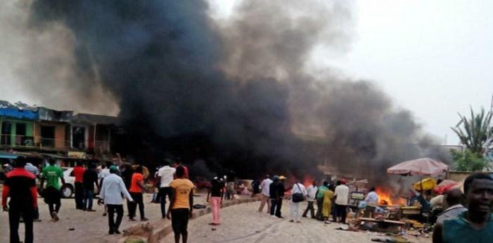 आत्मघाती बम आक्रमणमा १४ जनाको मृत्यु