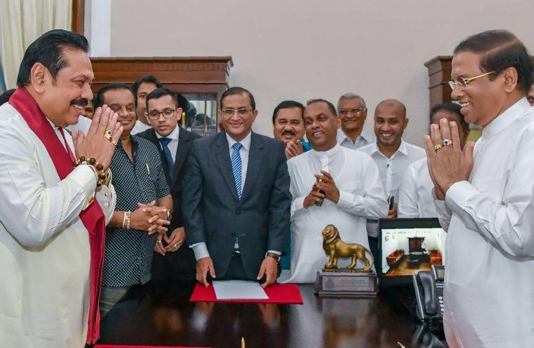 श्रीलङ्कामा नयाँ मन्त्रिपरिषद् गठन