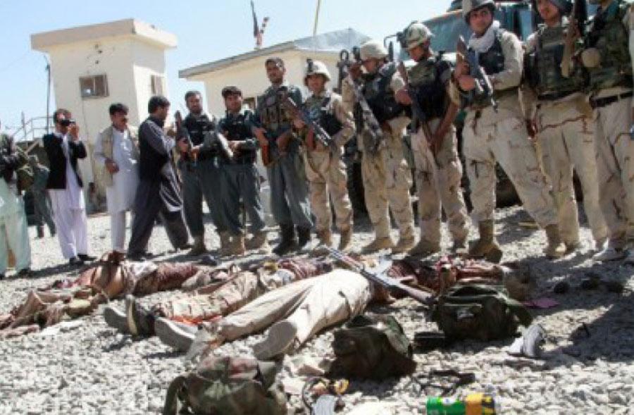 पूर्वी अफगानिस्तानमा २१ जना लडाकू मारिए