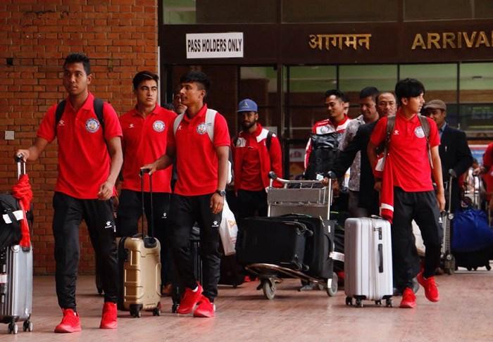 राष्ट्रिय फुटबल टोली आज स्वदेश फर्कियो