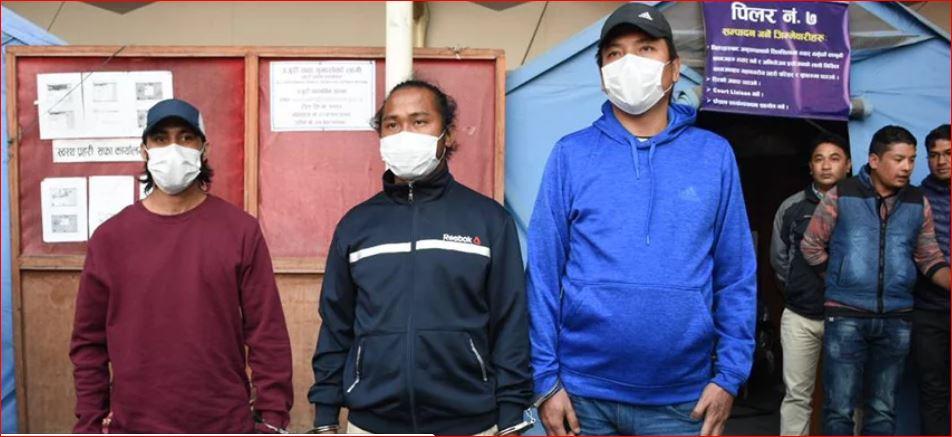 गौचनका हत्यारा रानासहित ३ जनालाई सिक्किमबाट लाग्यो हतकडी