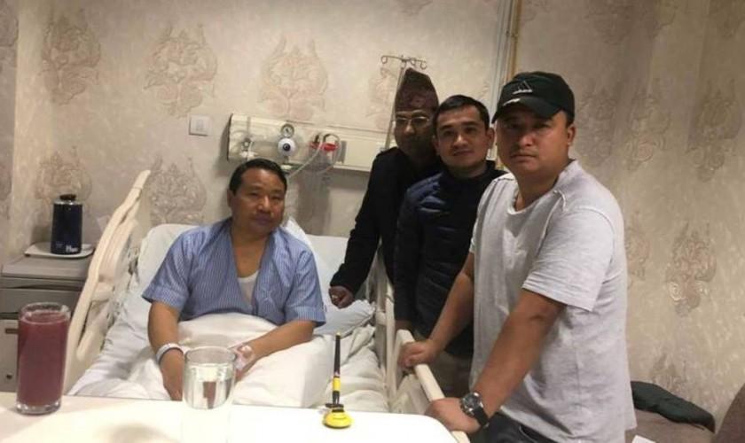 छातीमा समस्या भएपछि ऊर्जामन्त्री पुन अस्पताल भर्ना