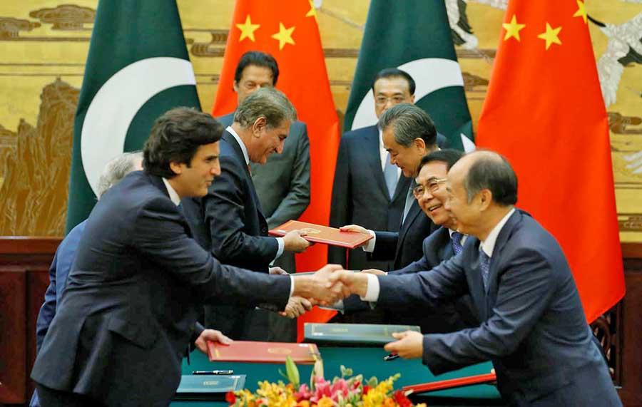चीन र पाकिस्तानका प्रधानमन्त्री बीच भेटवार्ता