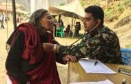 दुर्गममा सेनाको निःशुल्क स्वास्थ्य शिविर