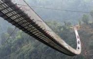 मुलुककै सबैभन्दा लामो झोलुङ्गे पुलको निर्माण कार्य सुरु