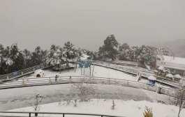 हिँमपातमा यसरी रमाउछन् काठमाण्डौ उपत्यकाबासी (फोटो फिचर)