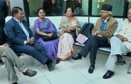 ह्याम्स अस्पतालमा उपचाररत नेता सिटौलाको स्वास्थ्य स्थीति बुझ्न नेताहरुको भीड