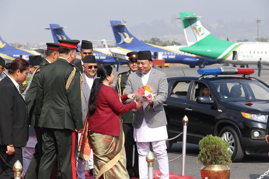 राष्ट्रपतिको राजकीय भ्रमणः नेपाल चीन सम्बन्धका सबै पक्षमा पुनरावलोकन