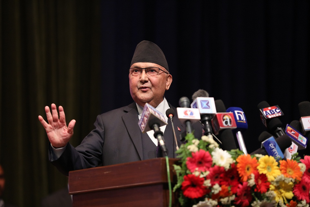 Achievement of workers' movement reaches new height: PM Oli