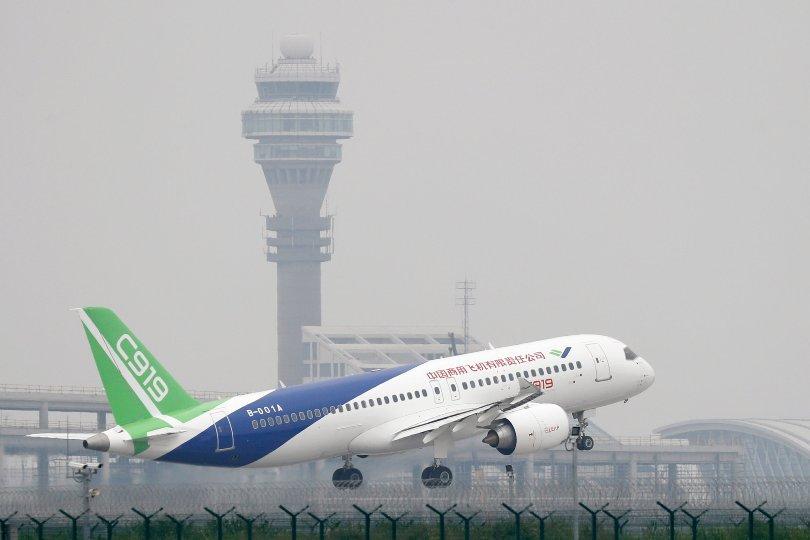 बेइजिङस्थित नयाँ विमानस्थलमा परीक्षण उडान