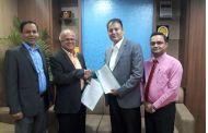 गरिमा विकास बैंक र महालक्ष्मी लाईफबीच बैंकान्स्योरेन्स सम्झौता