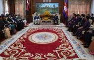 प्रधानमन्त्री ओली र कम्बोडियाली कावा राष्ट्र प्रमुखबीच भेट