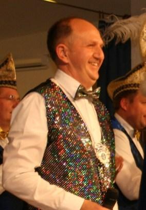 Moderator Karneval 2015 Heinz Kortmann