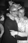 Karneval V.l. Theo Schneider mit Ehefrau Sefi