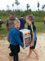Gewonnen: Einen Kühlschrank mit Getränken