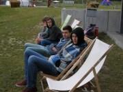 Ruhe nach dem Stress. C-Jugend SuS/ScS-Saisonabschluß 19.06.2014 in Uentrop