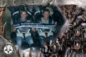 14.08.16 Sven Friedrich und Peter Pyka im Fluch der Dämonen im Heidepark Soltau