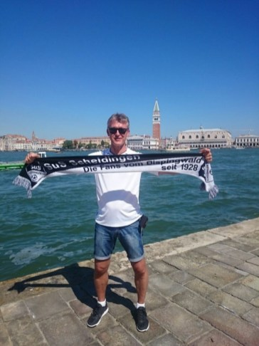 Martin Horstmann in Venedig am 17.07.2017