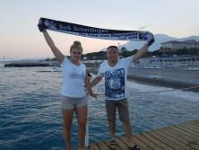 Patrizia und Gerd Naake in Kemer/Türkei am 04.08.2016