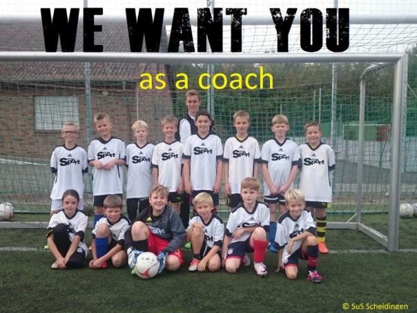 Wir wollen dich als Trainer