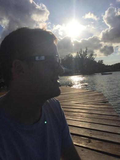 Erik Vickermann auf Mauritius 29.10.2018