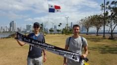 Panama-City am 22.01.2019 Florian Volmer und Sven Hurek beim Weltjugendtag