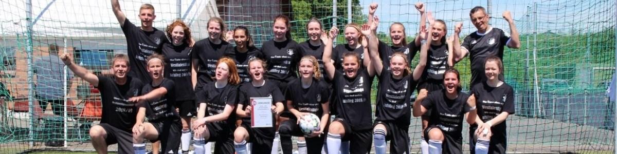 SuS B-Juniorinnen Meister der Bezirksliga 3 Aufsteiger zur Westfalenliga