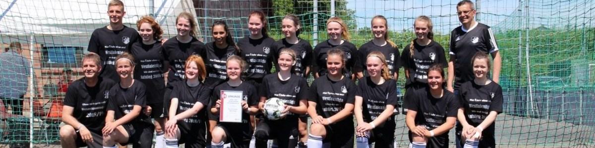 SuS B-Juniorinnen Meister Bezirsliga 2019