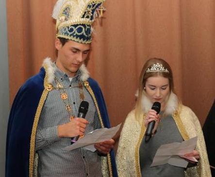 Prinz Florian I. und Prinzessin Kira I. bei der letzten Amtshandlung! PriPro in Welver am 17.11.2019