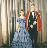 Prinzessin Andrea I. und Prinz Franz-Josef II. 1995