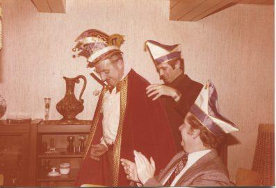 Theo Wiese, Edmund Becker, Helmut Budde