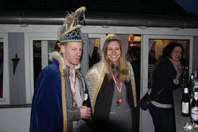 Scheidinges Prinzenpaar Michel I. und Christin I. Beim Prinzentreffen in Illingen
