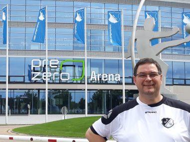 Andreas Straka in Sinsheim vor dem Stadion TSG Hoffenheim 02.08.2020