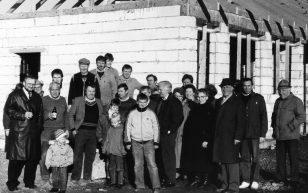 beim Sportlerheimbau 31.01.1990