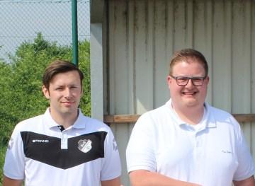 David Pyka und Tim Brans leiten überaus erfolgreich die Geschicke der 2. Mannschaft