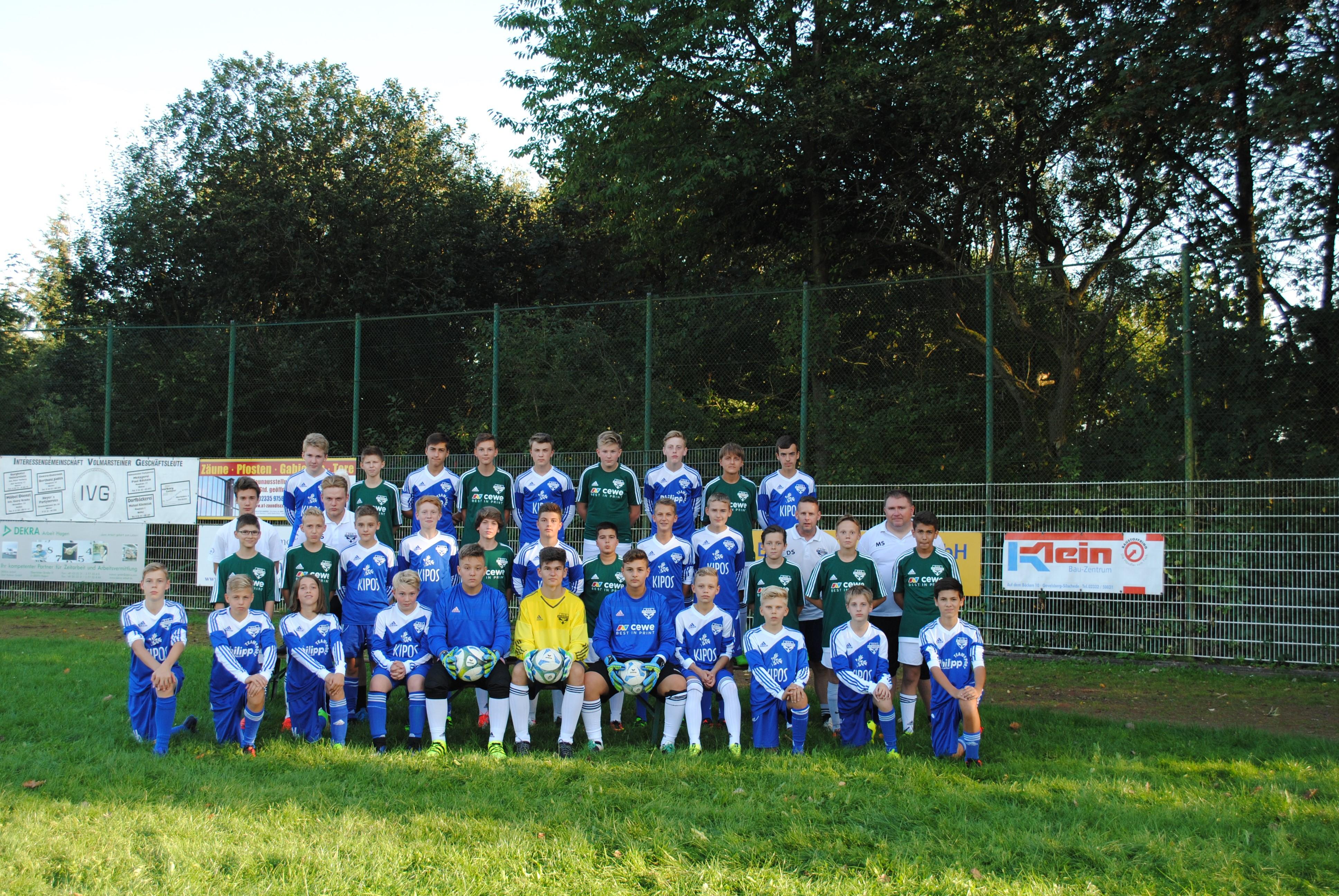 C1und2-Jugend Teamfoto
