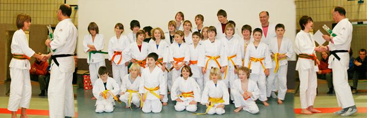 Bild der Judo-Abteilung