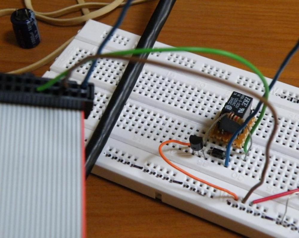 medium resolution of the breadboard photo shows it wired