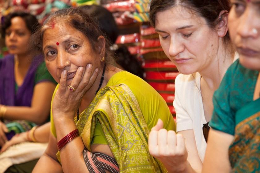 Indien Sari kaufen of Nordindien photographer Fotograf Frankfurt-4