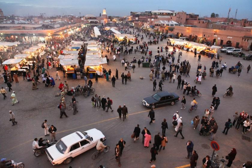 Marrakesch djemaa el fna-2